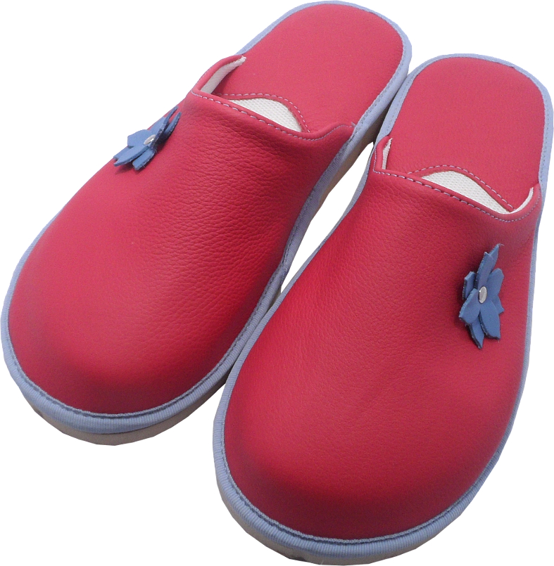 55118 Slippers woman red