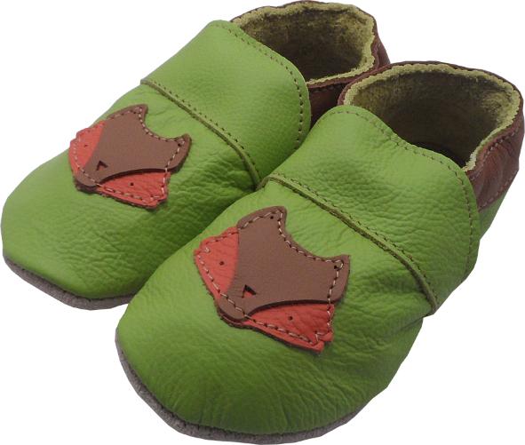 0252 Baby slippers fox