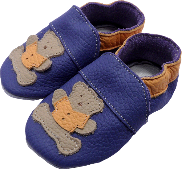 0173 Baby slippers bear