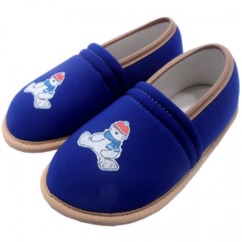 0054 Kids slippers eva blue