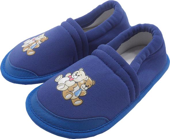 0158 Kids slippers new eva blue