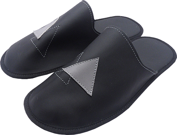 0261 Slippers man flece