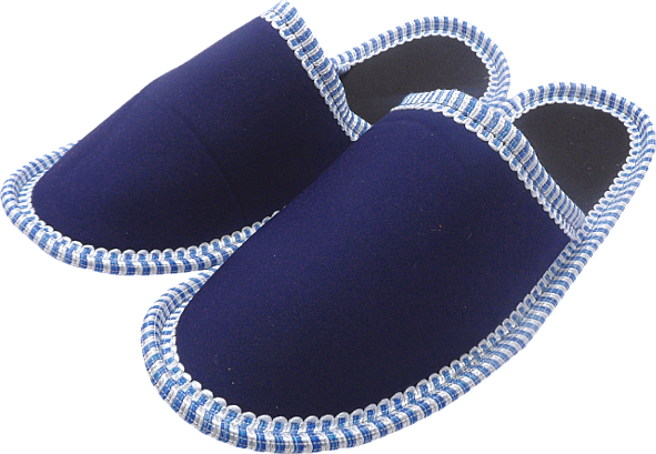 0098 Slippers blue