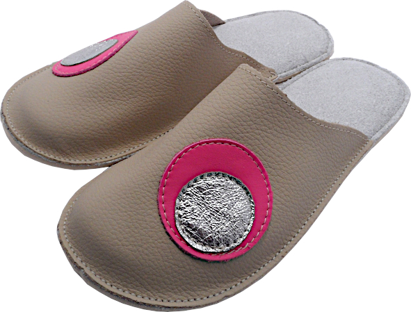 0266 Slippers woman with circles
