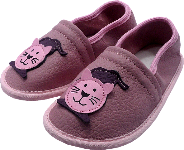 55107 Kids slippers cat