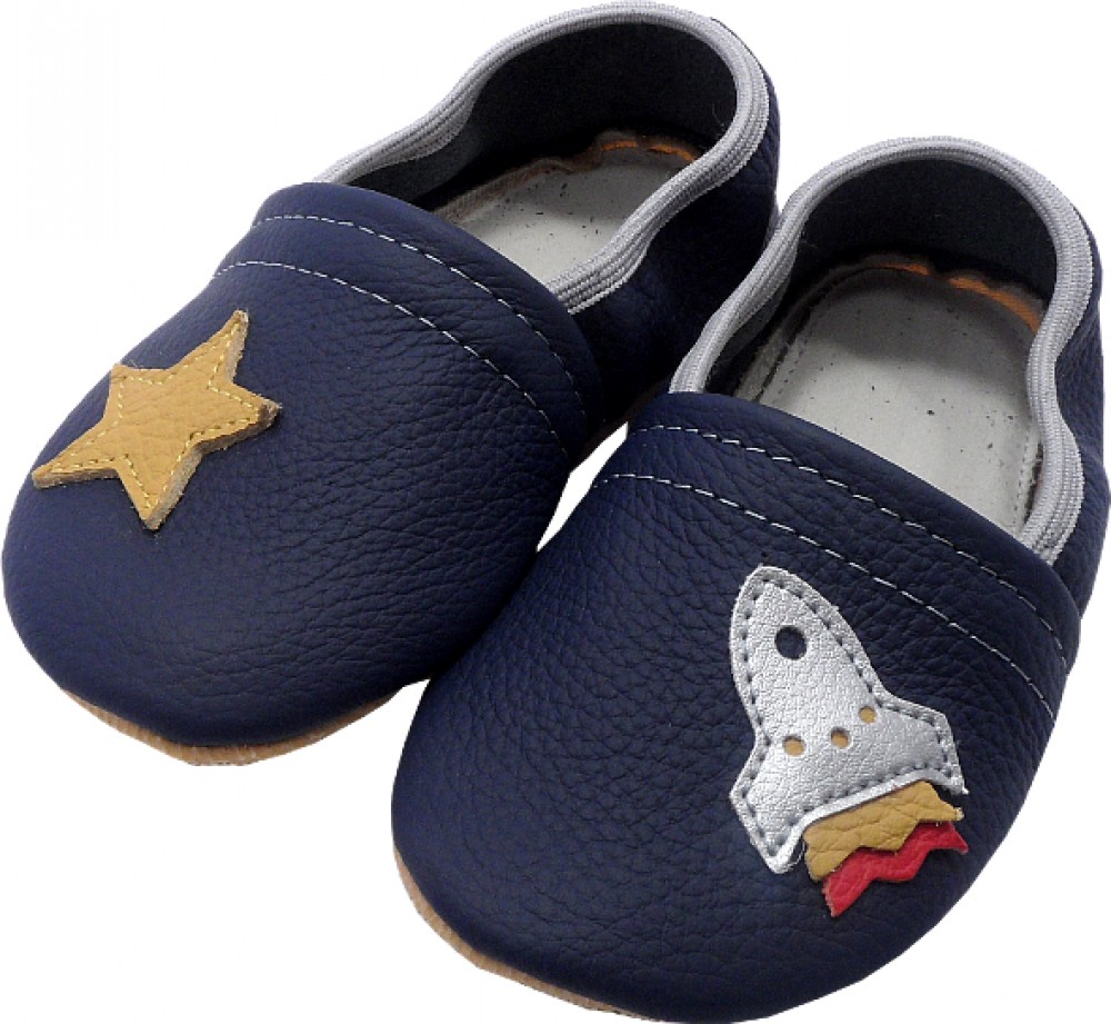0232 Kids slippers rocket to stars