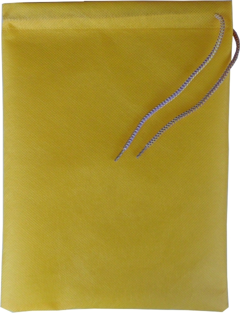 0128 Bag for slippers yellow