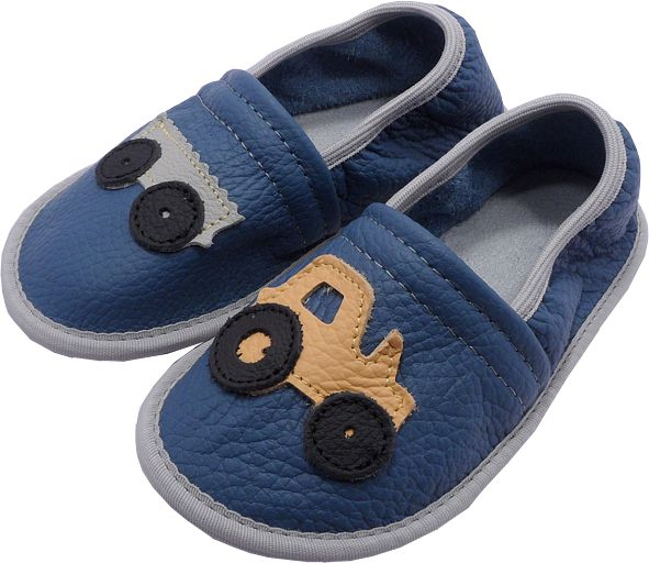 0154 Kids Slippers Tractor
