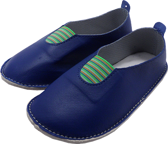 0033 Slippers scaut blue