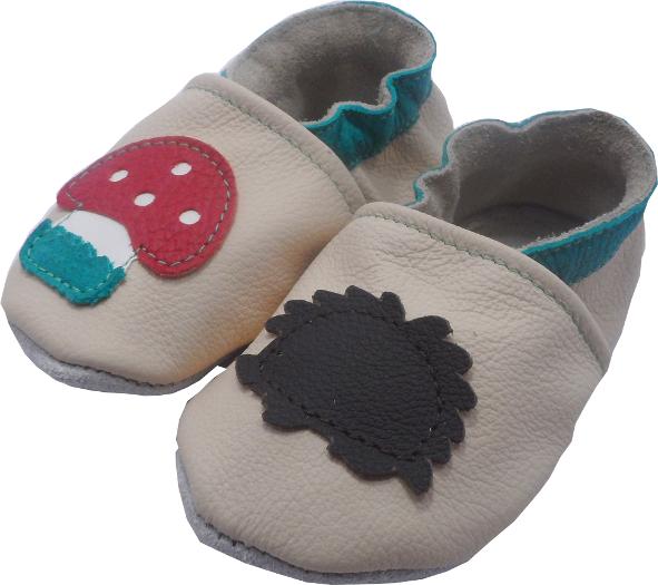 0205 Baby slippers hedgehog