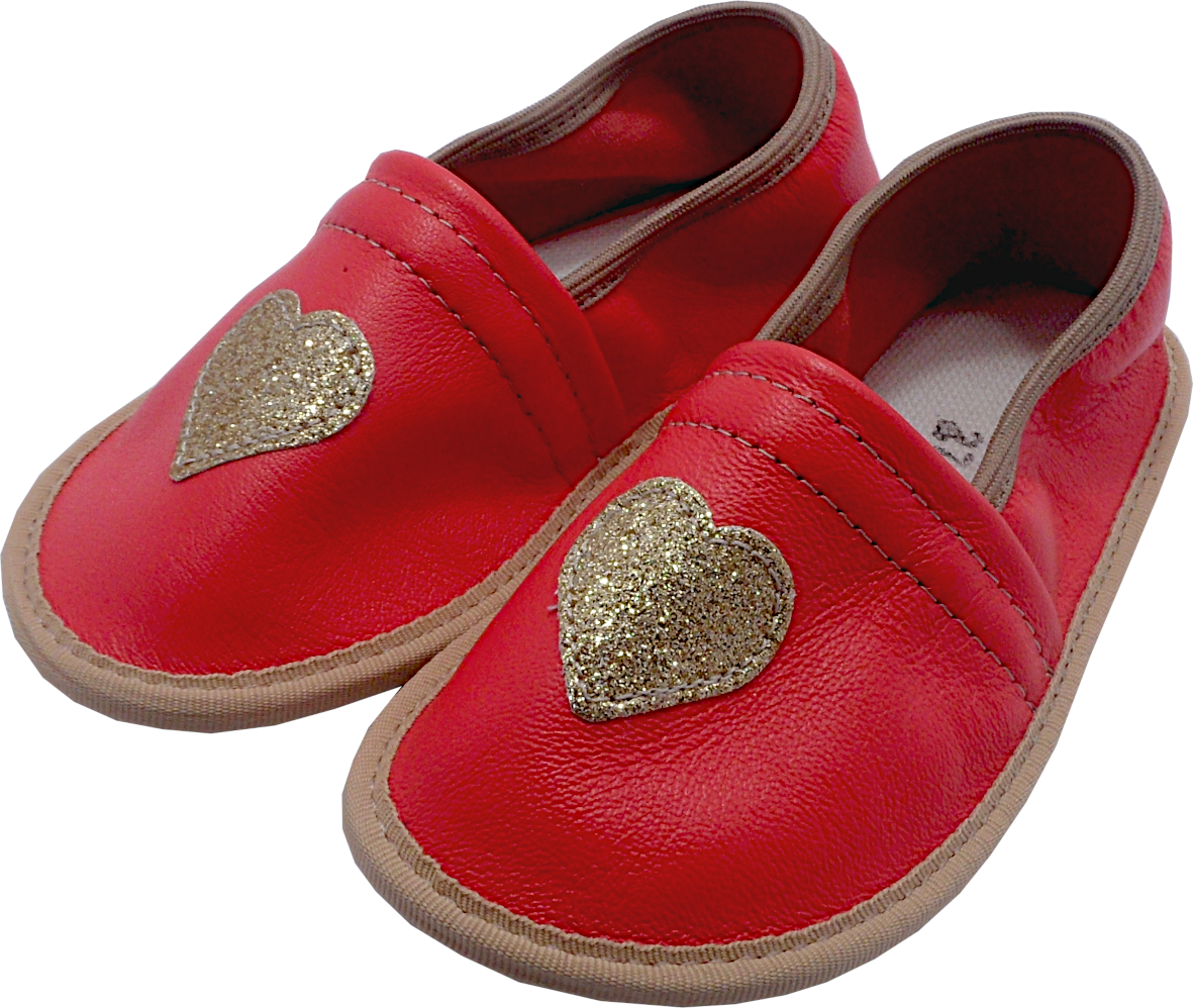 0272 Kids slippers heart