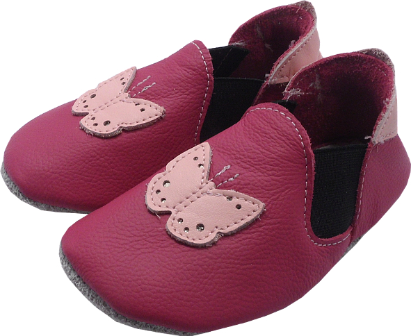 0251 Baby slippers VN butterfly