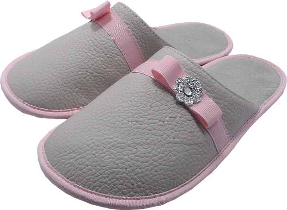 0263 Slippers woman bow