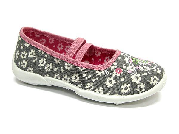 Pantofole bambina Ivona grigio
