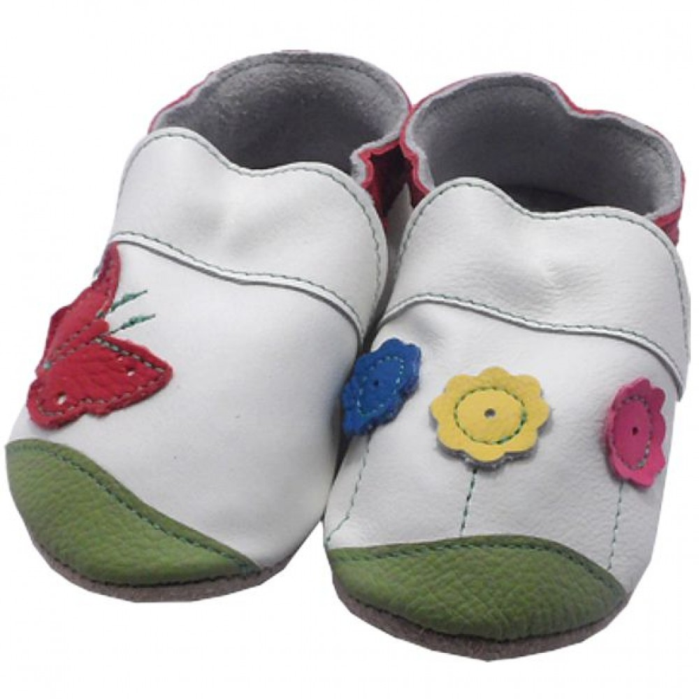 0240 Baby slippers meadow