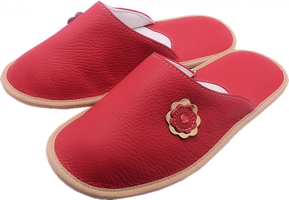 55100 Slippers woman red