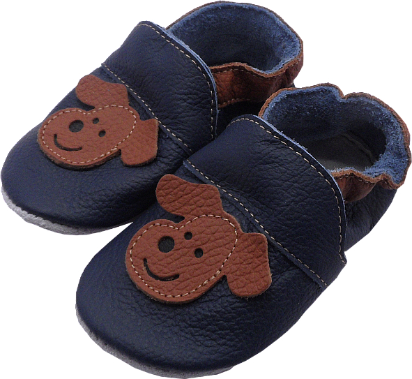 0208 Baby slippers dog