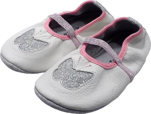 0255 Baby slippers Sparkly Butterfly