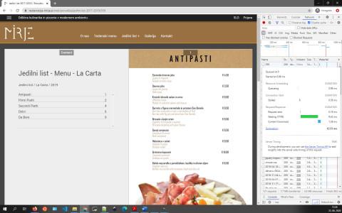 Restavracija Mirje - prikaz Jedilnega lista 2017-2019; TTFB: 9.42ms; https://restavracija-mirje.si/web/ponudba/jedilni-list-2017-2019/359