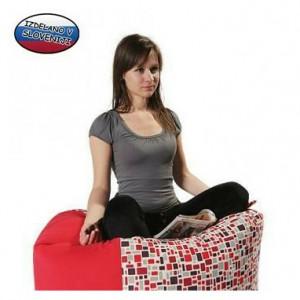 Sedežna vreča Free-dom 500, Mozaik, rdeča